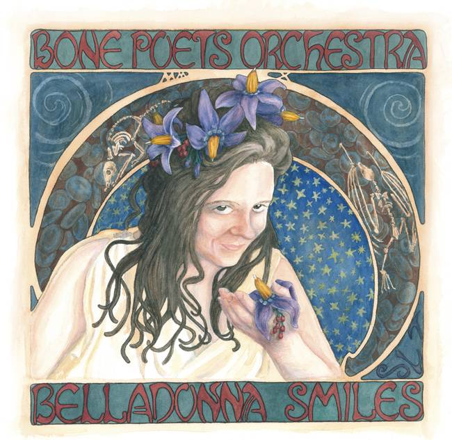 Belladonna album cover, watercolor