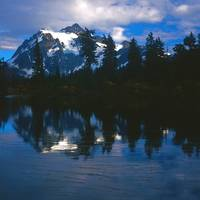 Mt. Shuksan - Picture Lake