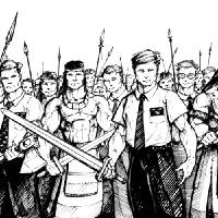 Stripling Warriors Art Prints & Posters by Mike Bohman