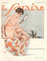 Front Cover of 'Le Sourire' Magazine - Admirers
