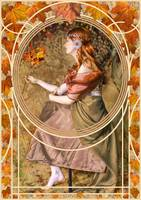 Falling Leaves, Art Nouveau