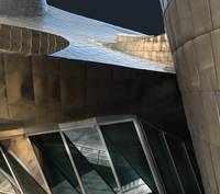 Abstract, Guggenheim Museum , Bilbao, Spain