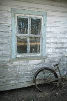 Bicycle by the Playhouse Window