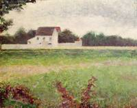Landscape in the Ile-de-France, by Georges Seurat