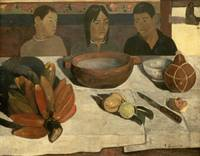 The Meal (the Bananas), 1891, by Paul Gauguin