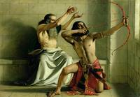 Joash Shooting the Arrow of Deliverance, 1844, by