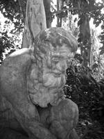 Thinking Man Statue at Selby Gardens