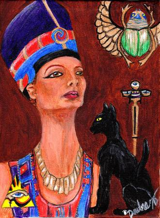 A Touch Of Egypt by Emily Dewbre-Young
