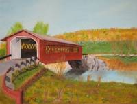 Bennington Falls Covered Bridge I
