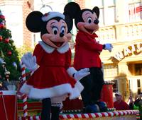 Mickey and Minnie Celebrate Christmas