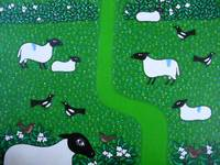 Sheep and Magpies