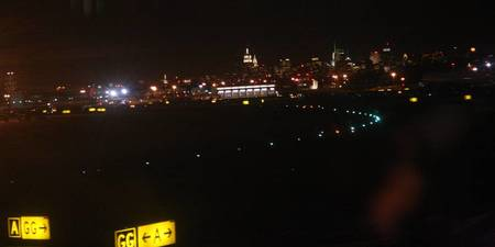Landing at LaGuardia