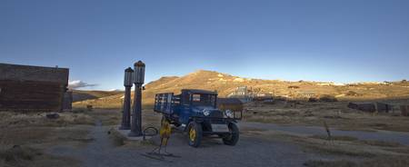 Bodie Truck at Sunset