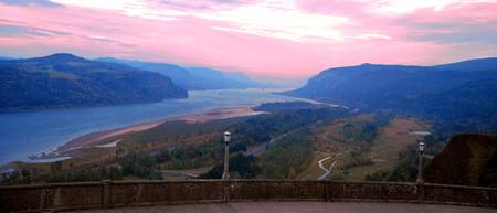 SUNSET_Columbia River Gorge