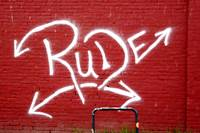 Rude red