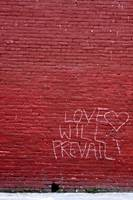 Love On a Red Wall