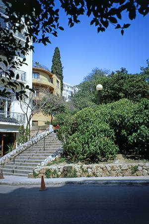 Living on Lycabettus, Athens, Greece, Spring 2003