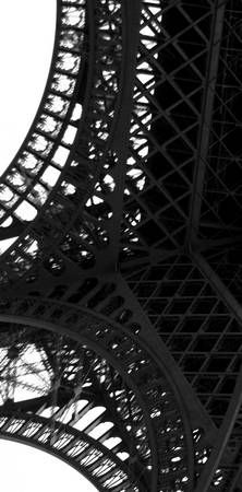 Eiffel Tower  IV         Black and White Edition