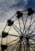Ferris Wheel Sunset (7)