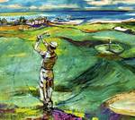 Golfing by the Sea 2 Posters