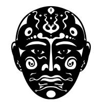 Artistic mask Art Prints & Posters by Darren Whittingham