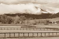 Longs Peak Storm and Fences
