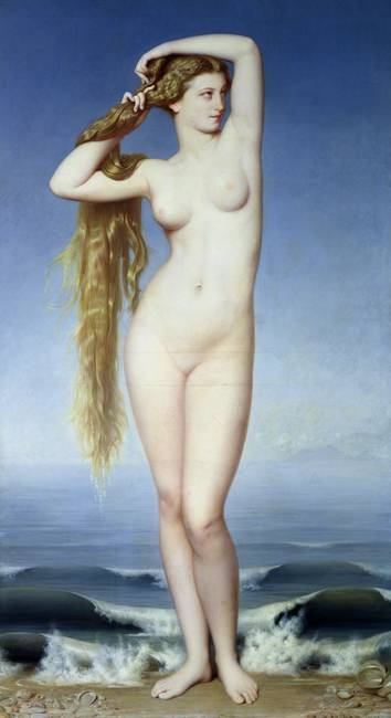 The Birth of Venus, by Eugene Emmanuel Amaury-Duva