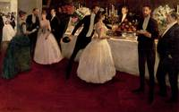 The Buffet, 1884, by Jean Louis Forain