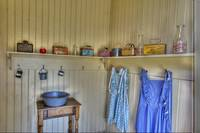 Old-fashioned Lunch Pails, Coloma Schoolhouse