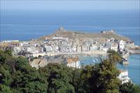 A view of St Ives Bay