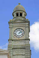 The Guild Hall Clock Tower, Newport (24097-RDA)