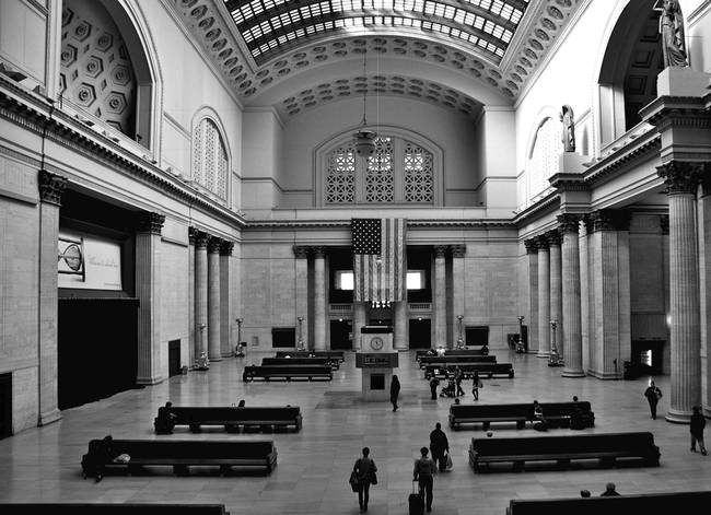 Grand Hall Union Station Chicago