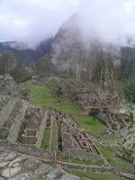 Macchu Picchu in the Clouds Peru
