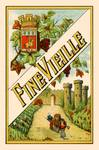 Spanish Vintage Art Fine Vielle Grapes Castle Posters