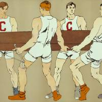 """""""Cornell Rowing Crew Team (Edward Penfield)"""" by alternativeposters"""