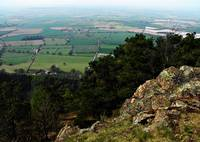 View from the Wrekin Hill, Shropshire