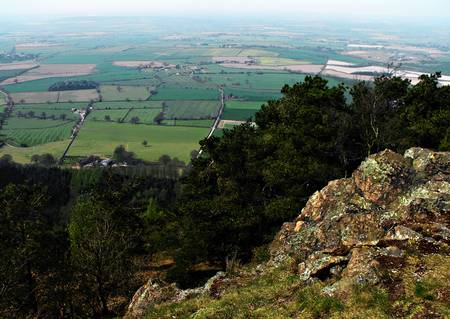 View from the Wrekin Hill, Shropshire by Alexandra Cook