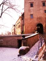Part of the Krumlov Castle, CZ