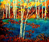 lAURENTAIN BIRCH TREES