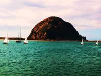 Scenic Rock of Morro Bay