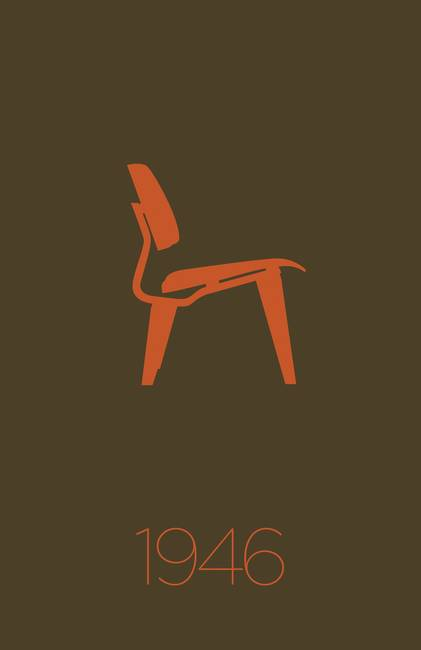 d15740ebf4 Modern Furniture Classic 1946 Plywood Chair by KKEN Art   Design