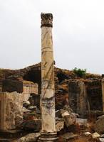Ephesus - Pillar from the ruins