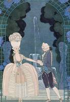 Love under the Fountain, illustration for 'Fetes G