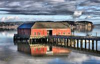 Coupeville Wharf in Winter
