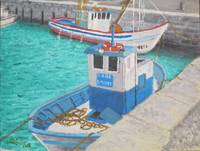 Fishing Boats - Tarifa Spain