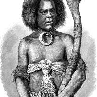 Fiji Warrior in a Wig Art Prints & Posters by inquirewithin