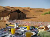 Breakfast in Morocco