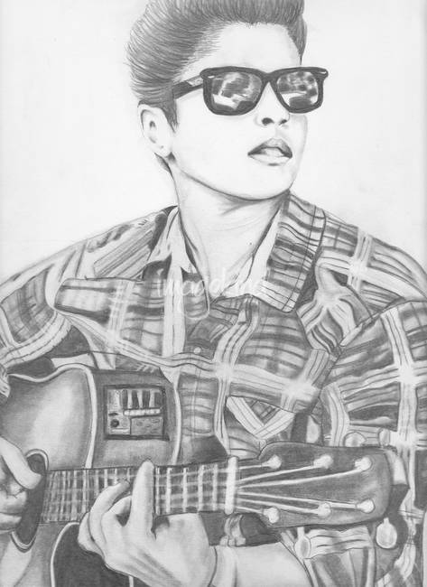 bruno mars coloring pages | Bruno Mars Printable Coloring Pages - Bltidm