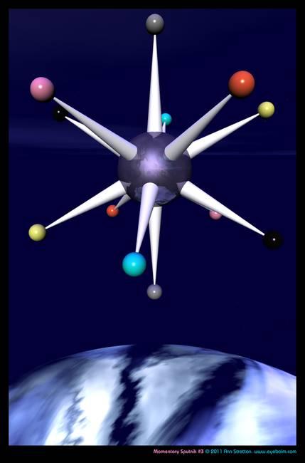 Momentary Sputnik #3 by Ann Stretton