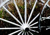 Weathered Wagon Wheels 2